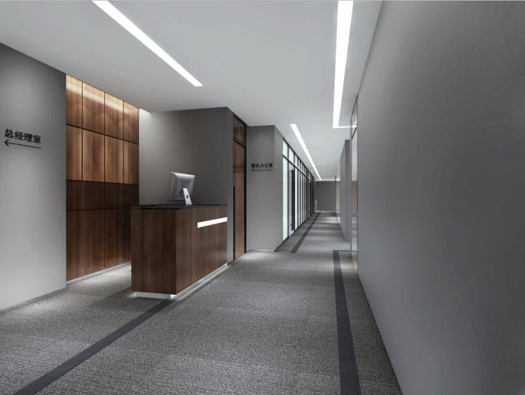 某新闻大厦办公楼设计方案效果图(含3D模型)_2