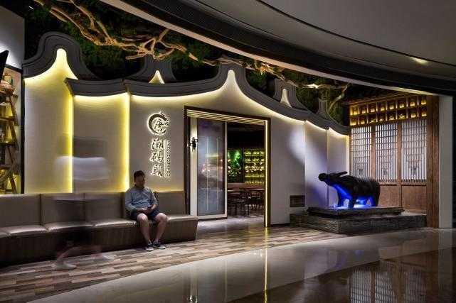 唐潮碼頭餐廳設計,以中式現代混搭的手法為空間注入新的活力
