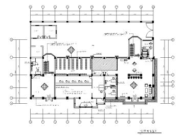 【浙江】嘉华某集团行政办公楼室内施工图(含效果图)