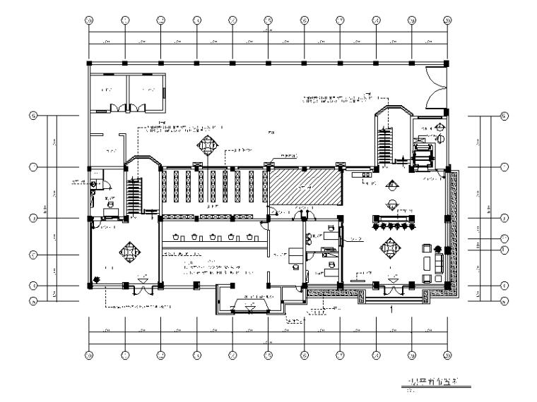 [浙江]嘉华某集团行政办公楼室内施工图(含效果图)