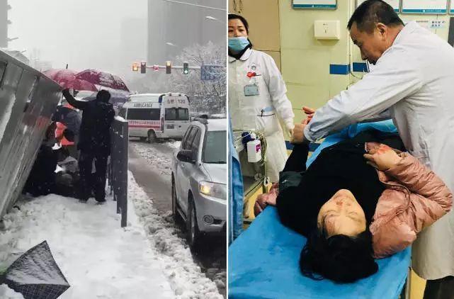 """合肥公交站台倒塌致1死20伤!又是""""低价中标""""惹的祸?"""