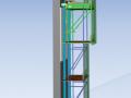 超高层建筑核心筒内爬模施工方案