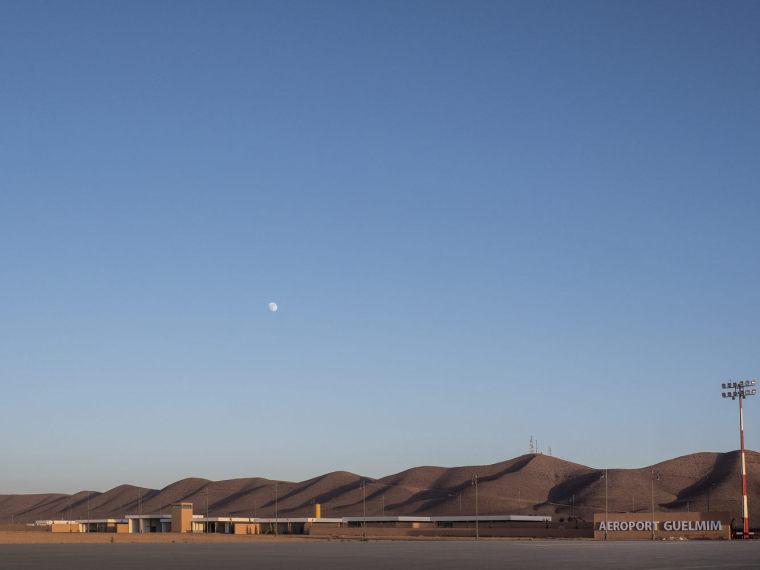 摩洛哥可拓展性盖勒敏机场外部实景图 (4)