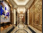 【电梯过道】27套现代、后现代、中式风格|电梯过道3D模型