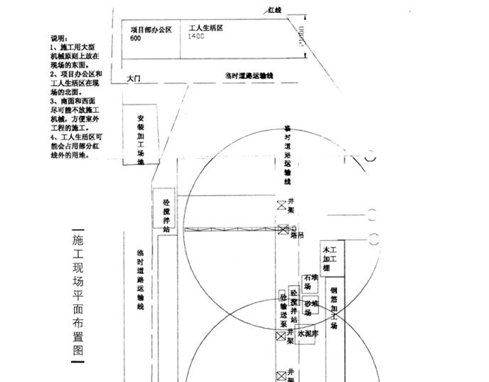 中心一期工程施工组织设计(共137页)