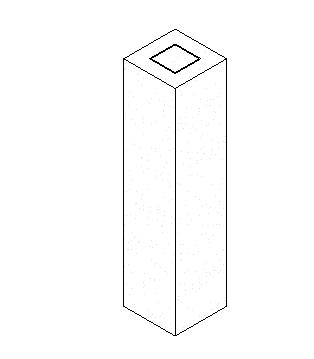 型钢混凝土柱-焊接箱形钢