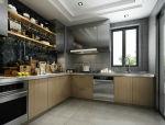 美式风格咖啡厅厨房3D模型