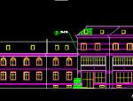 永达花园住宅小区会所全套建筑设计图