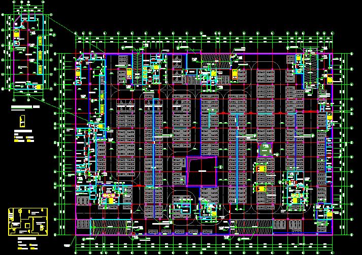 【广东】十层业基地项目公共空间(地下3层)装修工程预算书(图纸)_2