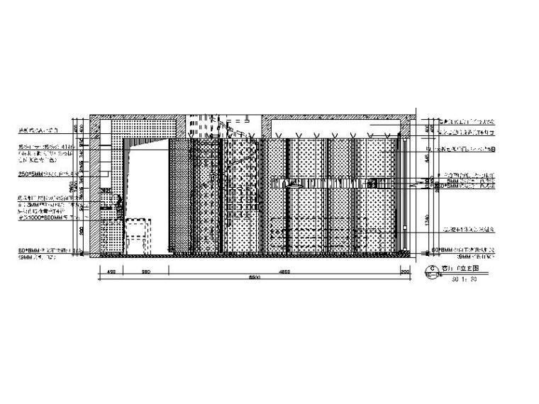 【广东】现代风格复式样板房CAD施工图(含效果图)_3