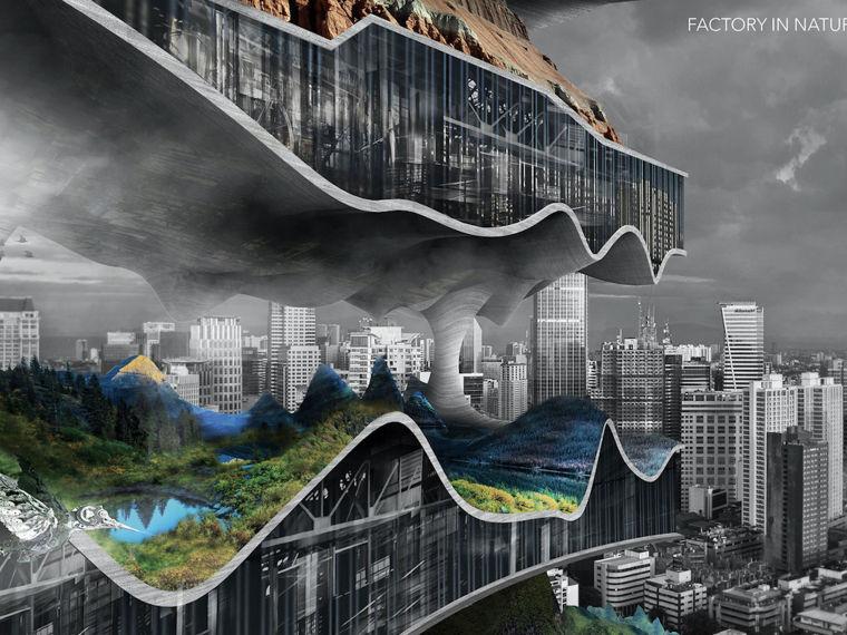 IFLA获奖作品集合资料下载-2017摩天大楼设计竞赛eVoloSkyscraperCompetition获奖作品