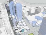 高层多功能商业概念规划与城市设计建筑设计方案文本