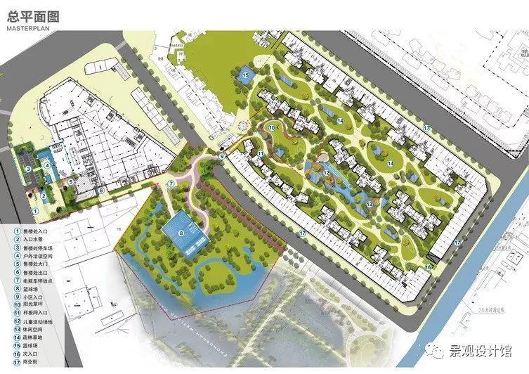 时代御京新城现代景观设计案例赏析