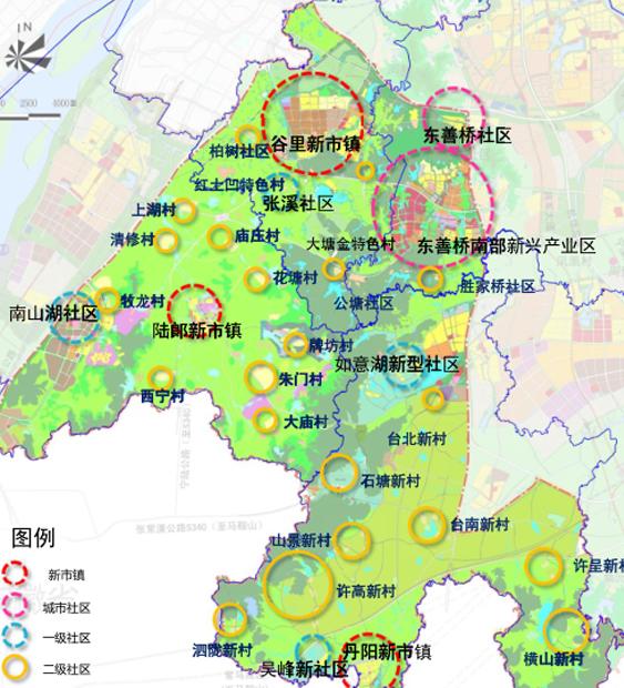 [江苏]江宁美丽乡村旅游小镇示范区规划