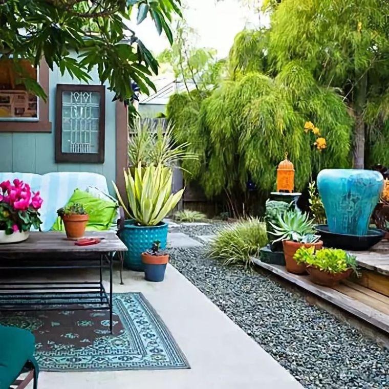 花园驻新颜,景观色彩搭配_18