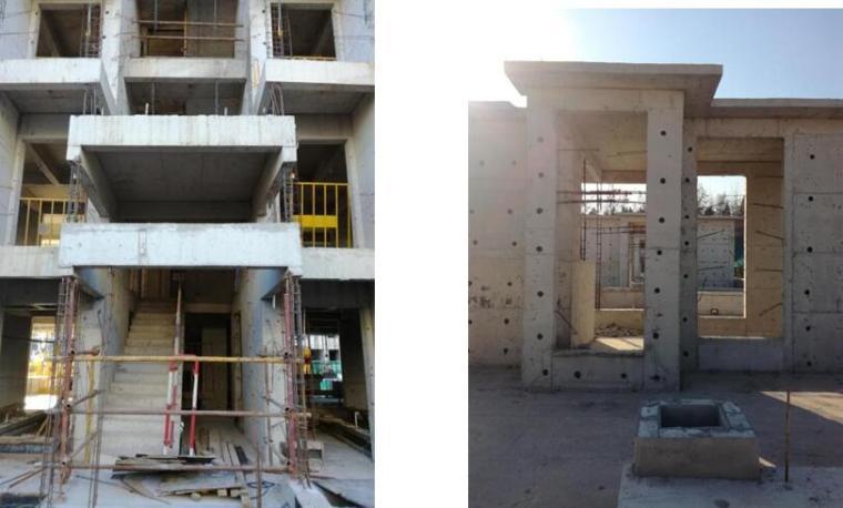 住宅楼工程蒸压加气混凝土砌块砌筑安全技术交底-首层门厅及机房层位置