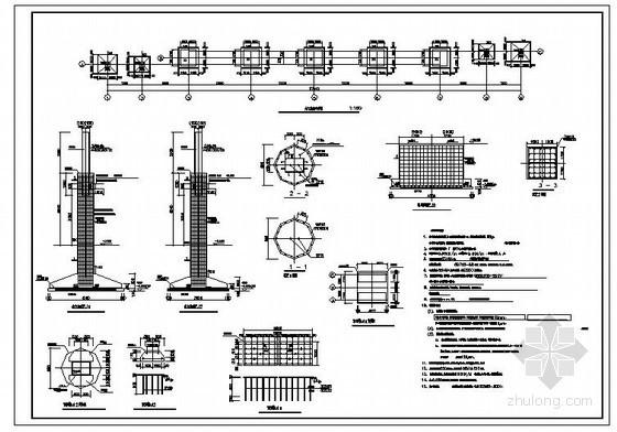 某产业园大门结构设计图
