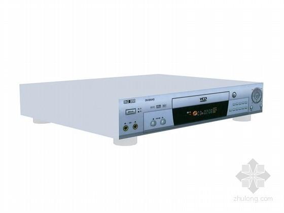 VCD播放器3D模型资料下载-VCD播放器3D模型下载