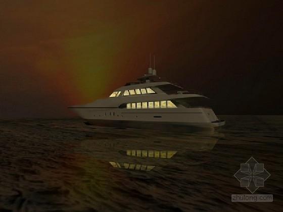 [山东]稀有素材豪华游艇船体室内装饰设计方案