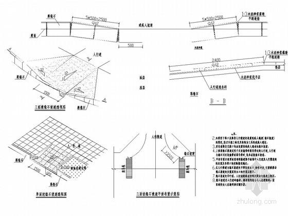 [四川]城市次干道道路工程施工图设计91张