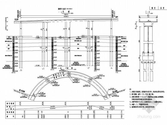 4x32m现浇箱梁曲线匝道桥全桥施工图(47页)