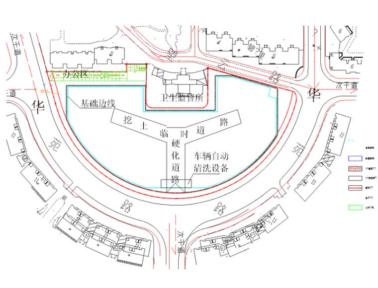 框架结构住宅楼地下人防工程土方开挖及支护施工方案(40页)
