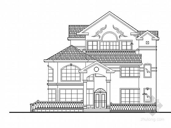 [江苏]三层砖混结构独栋私人别墅建筑施工图