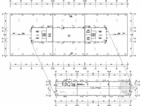 [安徽]厂区生产研发楼给排水施工图纸(24米、5万立方)