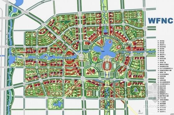 [潍坊]知名地产整体概念规划及核心区城市设计方案(上海著名规划院)