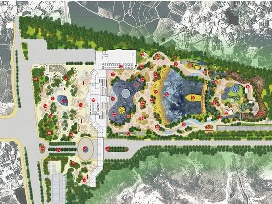 [安徽]大型滨水主题乐园旅游度假区景观方案