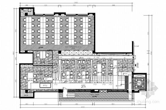 [厦门]大型药品保健龙头企业高档办公楼室内装修施工图