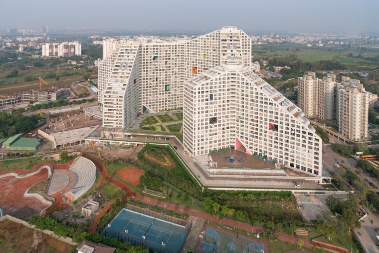 印度浦那未来之塔建筑-0638_Future_Towers_Pune_©Ossip