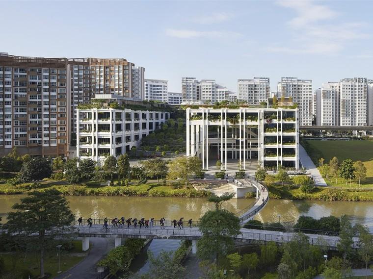 新加坡OasisTerraces社区中心和医院