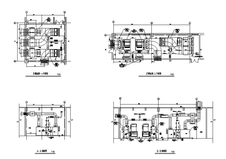 四层综合楼暖通空调施工图(含消防、排烟系统)_2