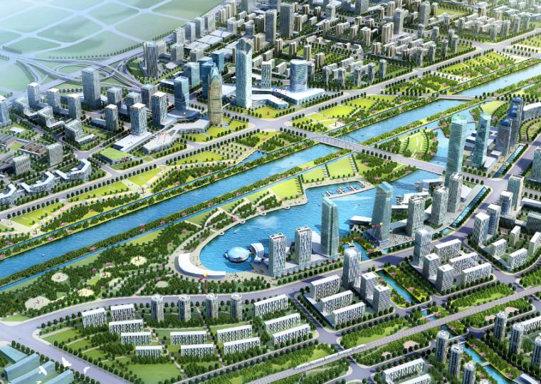 [河南]郑州二七滨河新区概念性总体规划设计方案文本
