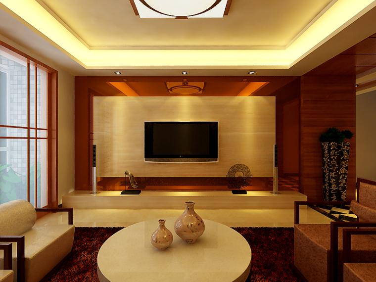 001-小区房室内设计第1张图片