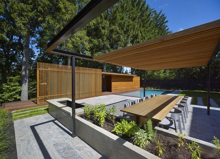 加拿大游泳池木屋-5