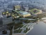 [上海]国际会议中心规划设计方案(华东院设计)