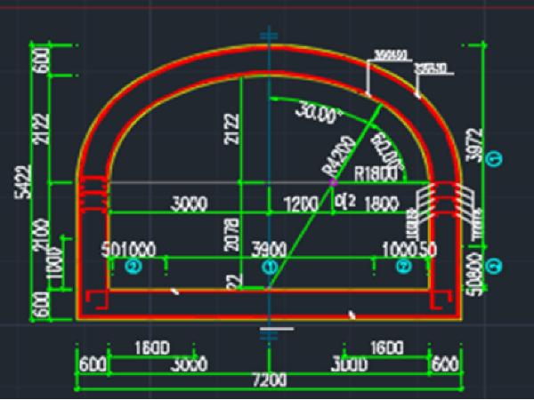 青岛地铁汇泉广场站3号出入口结构设计(145页)