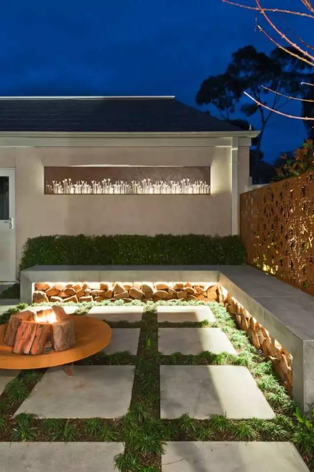 赶紧收藏!21个最美现代风格庭院设计案例_147