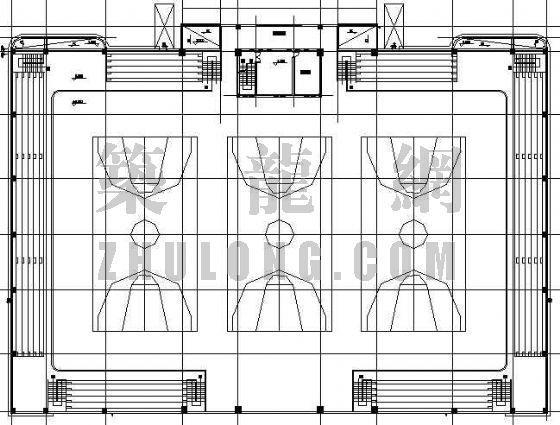 某灯光球场建筑设计方案-4