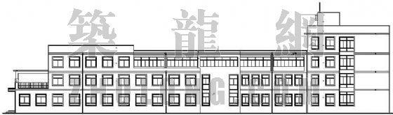 某县城卫生院建筑施工图(全套)