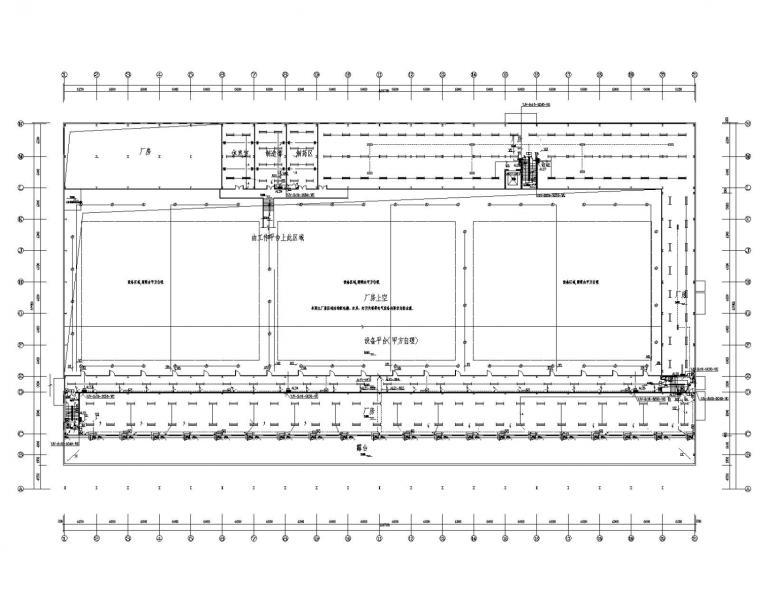 [四川]科技车间厂房电气施工图