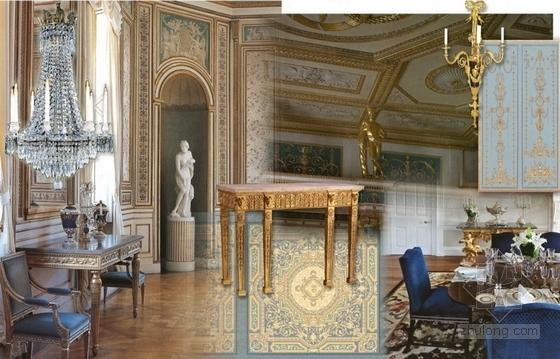高级品牌国际连锁酒店室内设计方案宴会厅意向图