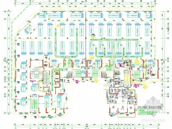 高层商业住宅综合楼空调通风及防排烟系统设计施工图