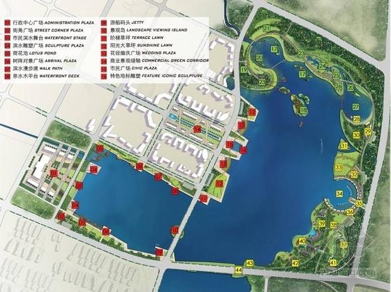 [福州]岛屿滨湖湿地公园景观规划设计方案(著名事务所)
