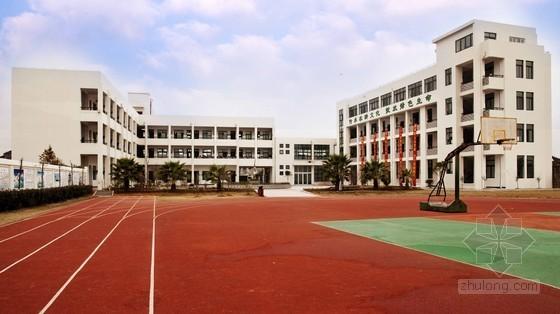[广东]小学室外运动场改造工程预算书(附施工图纸)