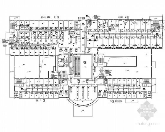 VRV热泵空调资料下载-[安徽]新院区门诊综合楼空调及通风排烟系统施工图(VRV系统)
