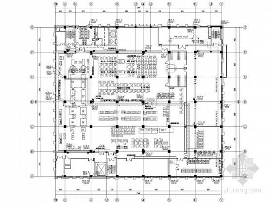 [安徽]国内著名研究所封装研制楼给排水施工图