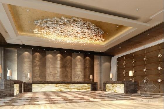 [太原]尊贵奢华风格国际五星级酒店室内设计方案